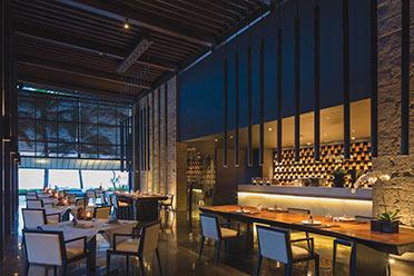 Soori Bali上的Cotta餐厅